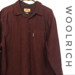 Woolrich Men's Ruby Heather Button Down Shirt
